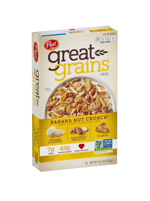 Banana Nut Crunch Non GMO Box Image