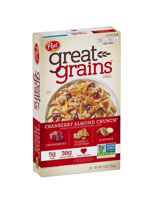 Cranberry Almond Crunch Non GMO Box Image