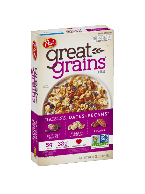 Raisins Dates Pecan Non GMO Box Image